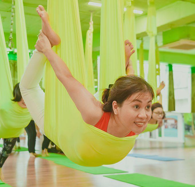 Trung tâm Yoga võng Bình Dương Maha Yoga 4