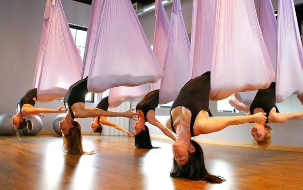 Lý do các học viên nghiện tập Yoga với dây