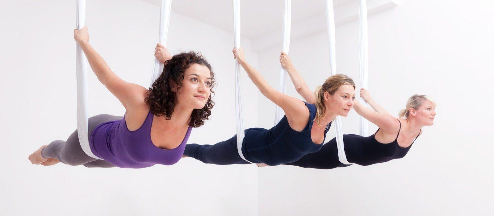 Yoga dây mang lại đam mê tập luyện thể thao cho các bạn học viên