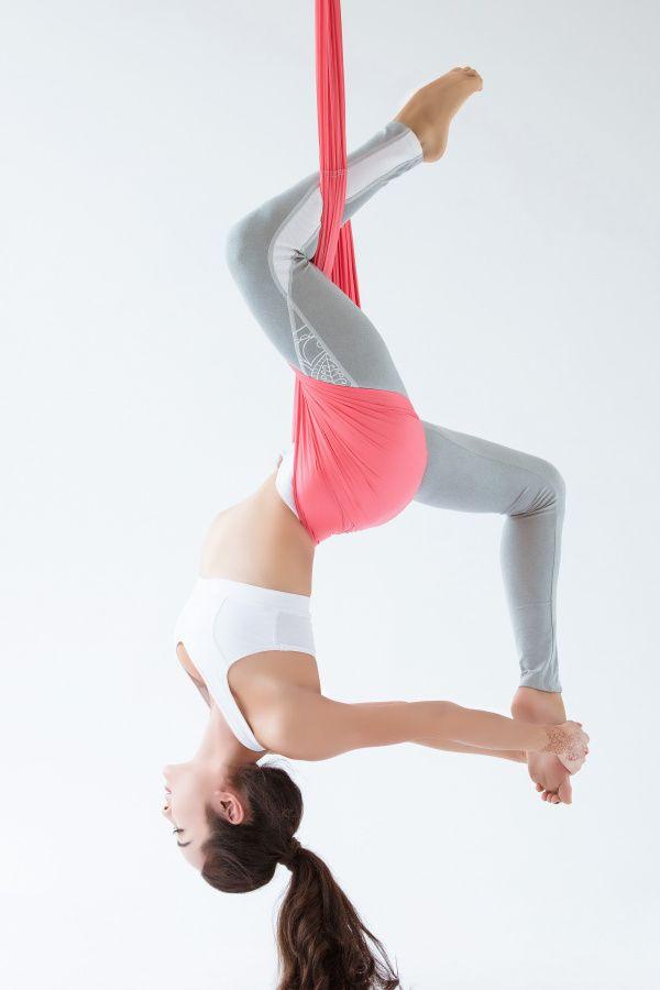 Chẳng có bộ môn Yoga nào thư giãn bằng tập Yoga dây