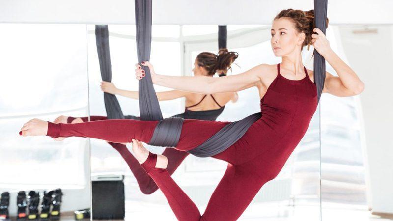 Chọn trung tâm Yoga dây uy tín sẽ biến bài tập khó thành dễ