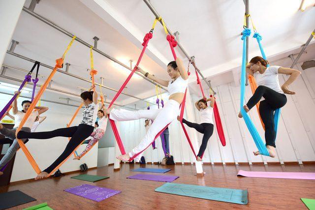 3 Điều cần biết trước khi tập Yoga võng bay