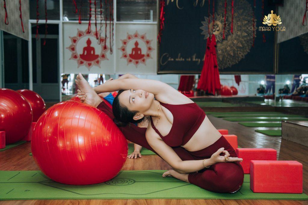 Ms. Vân- Người sáng lập Trung tâm Maha Yoga Bình Dương
