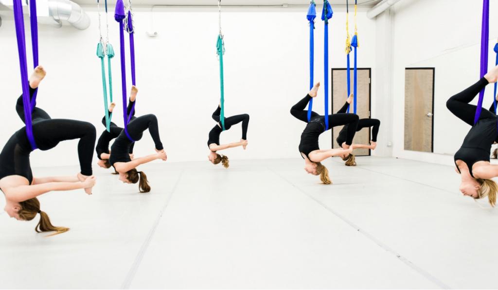 Một vài lưu ý khi tập Yoga với võng bạn nên biết