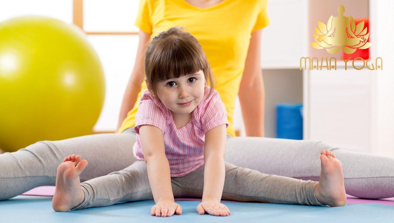 Lớp học Yoga Kid Yoga trẻ em Bình Dương- Trung tâm Maha Yoga