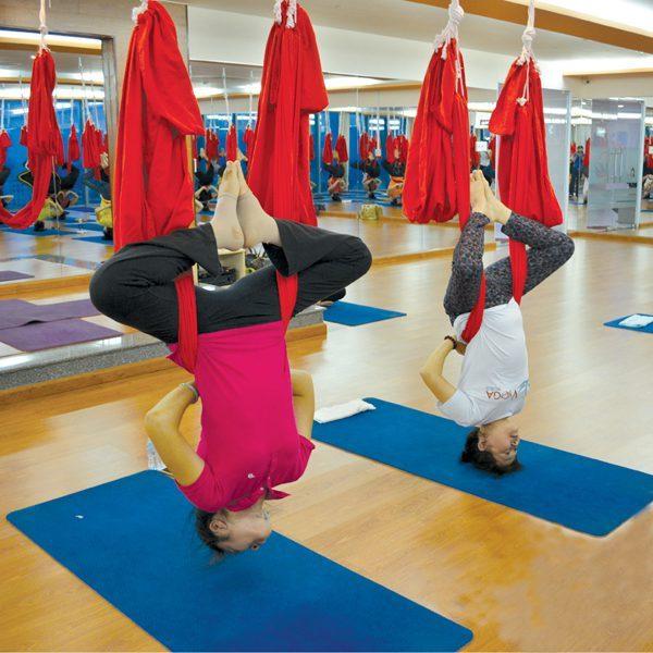 Yoga võng TPHCM: Bộ môn Yoga mới mang tới nhiều lợi ích