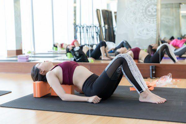 Một số lỗi thường gặp khi tập bộ môn yoga gạch