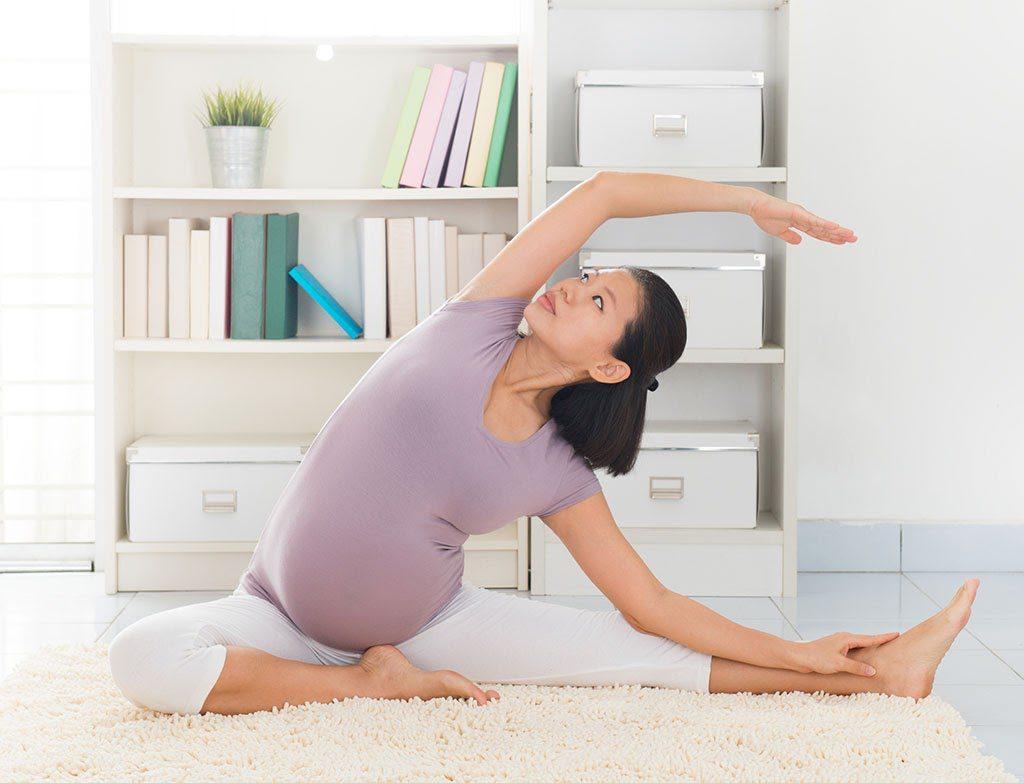 Các bài tập yoga cho bà bầu 3 tháng đầu đem đến nhiều hiệu quả.