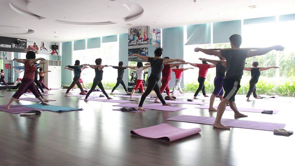 Không gian để tập yoga gậy ảnh hưởng rất lớn đến hiệu quả luyện tập