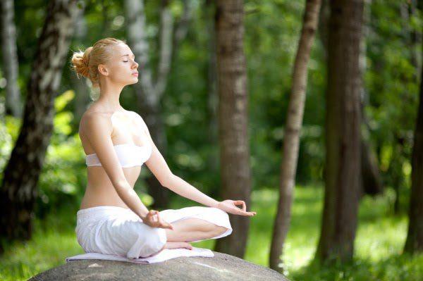 Với những người luyện tập yoga thiền thì điều đầu tiên là phải chuẩn bị không gian luyện tập