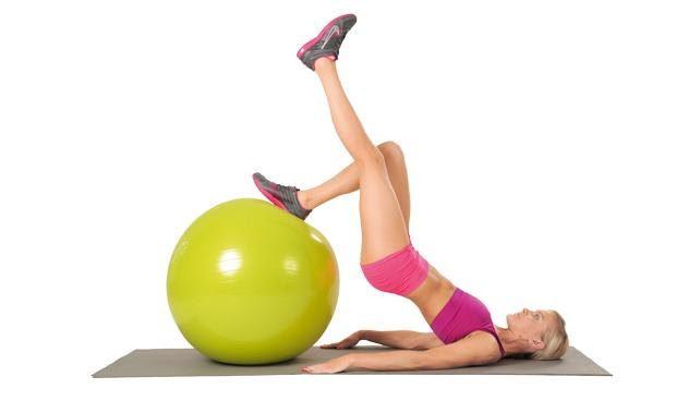 Các động tác cơ bản với bài tập yoga 1 chân cong