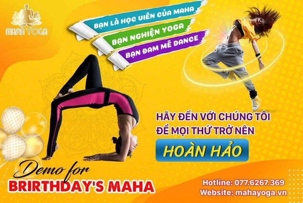 mahayoga.vn- event ngoai khoa nhay chuc mung sinh nhat mahayoga