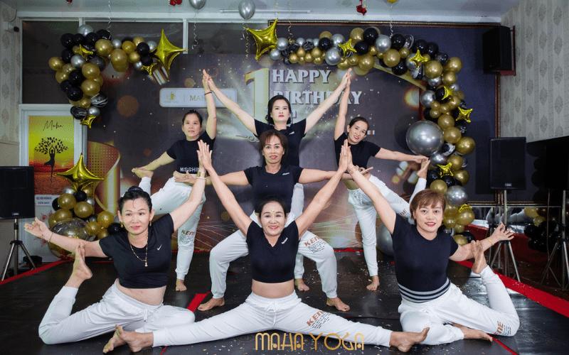 sinh nhat Maha Yoga 1 tuoi